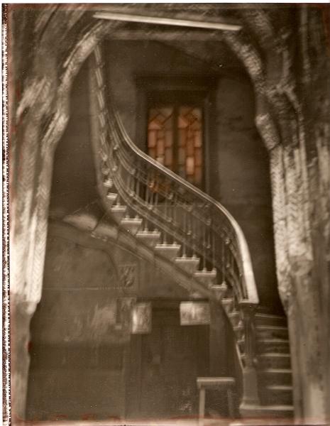 Maison de Linant de Bellefort, parrain de l'enfant de Gustav Le Gray, 2003<br/>Impresión de tintas de pigmentos / Inkjet