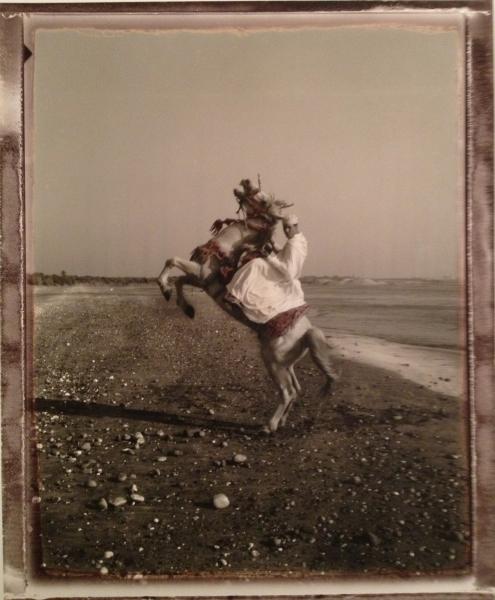 Maroc, Cavalier d´Azzemour, 2000<br/>Impresión de tintas de pigmentos / Inkjet