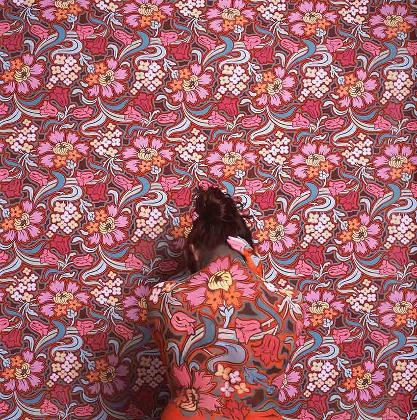 Meditative marmaid, 2011<br/>Impresión de tintas de pigmentos