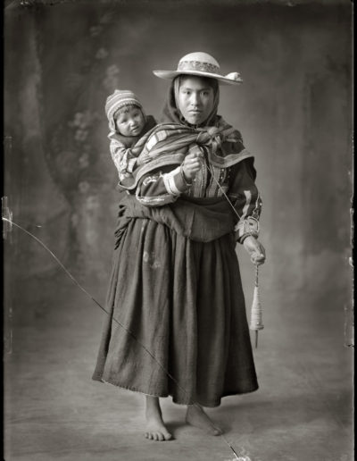 Mujer de Queromarca, 1934<br/>Gelatina de plata / Silver gelatin print