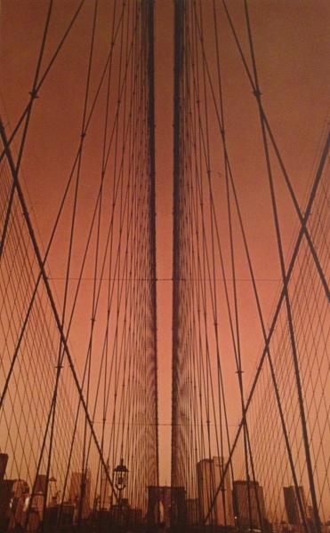New York. Pont de Brooklyn, 2007<br/>Impresión de tintas de pigmentos / Inkjet