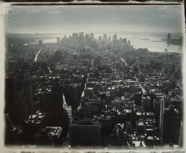 New York. Vue sur Manhattan, 2007<br/>Impresión de tintas de pigmentos / Inkjet