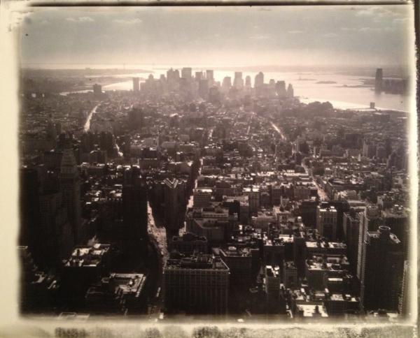 New York. Vue sur Manhattan. 2007<br/>Impresión de tintas de pigmentos / Inkjet