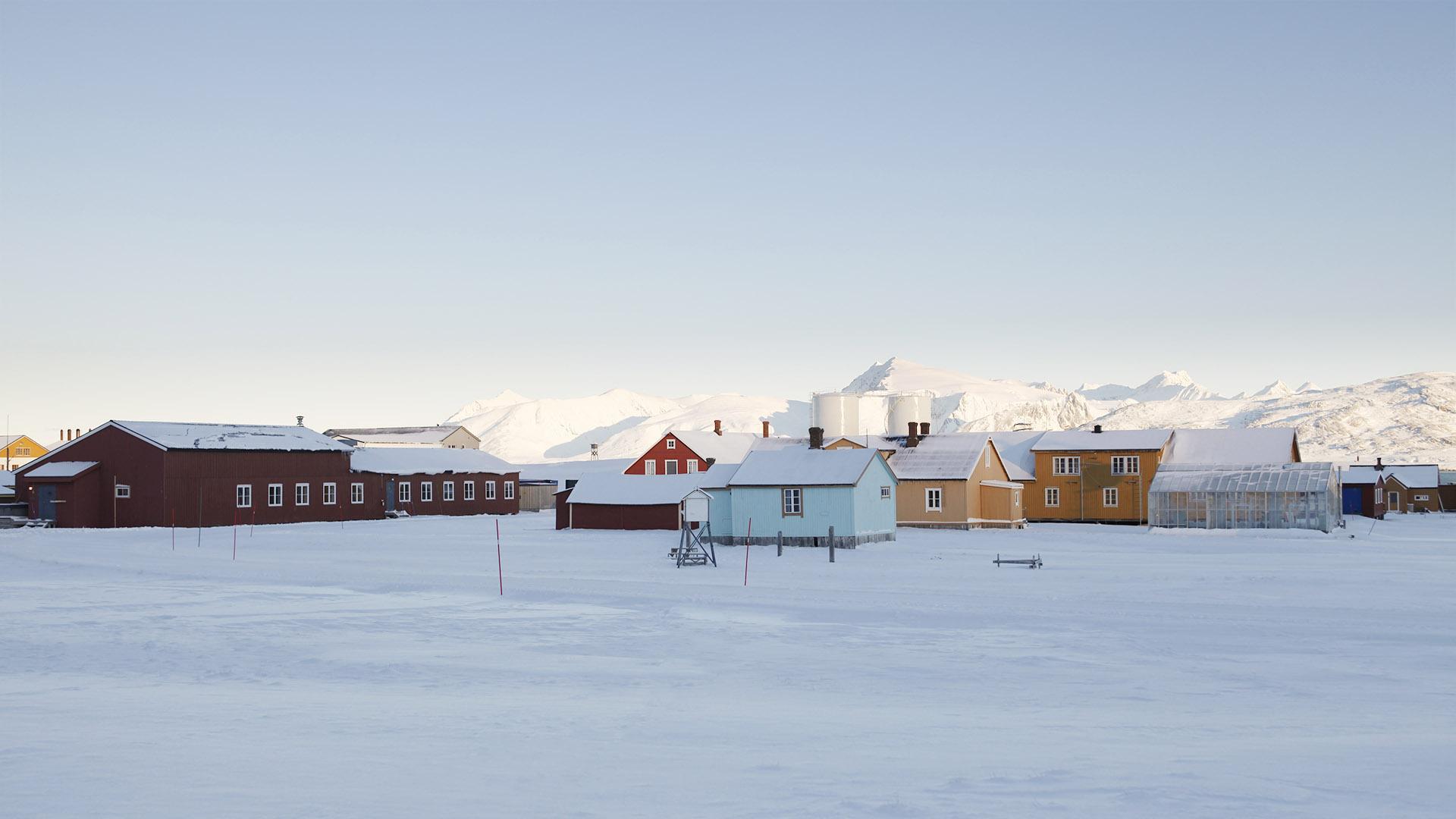 Ny-Alesund, Spitsbergen, Svalbard<br/>