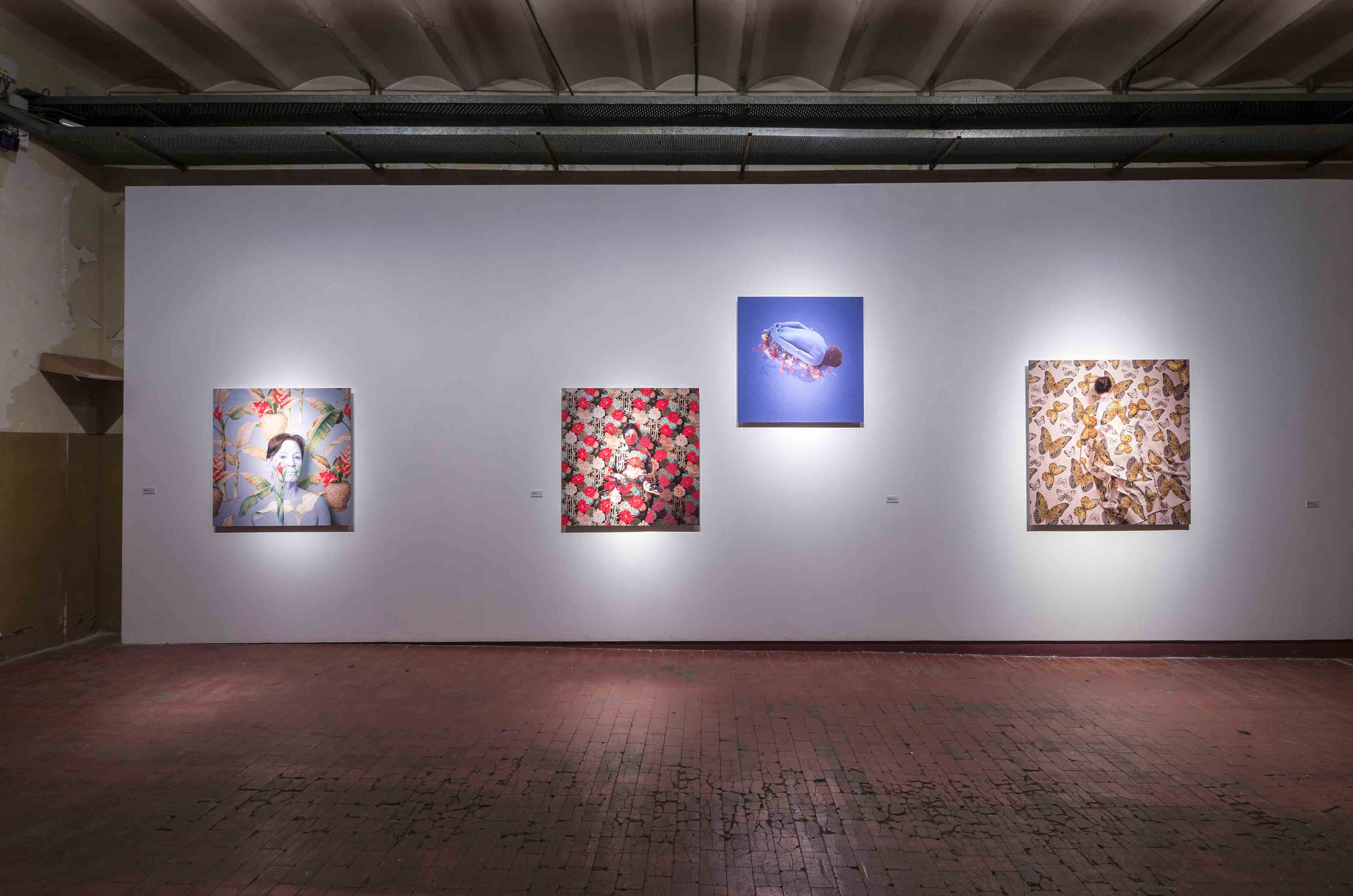 Paisaje azul, 201; Ruta de bambú, 2012; Lago de las alturas, 2007; Paradise, 2009<br/>