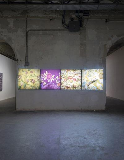 Manos de paraiso, 2011; Paraiso azul, 2011; Paraiso esquivo, 2010; Brisa, 2012<br/>