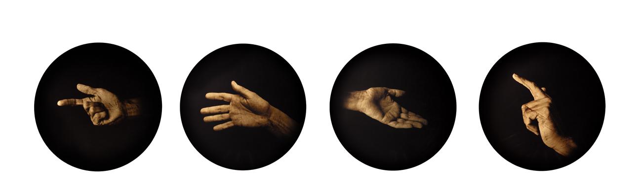 Estudio de la Anunciación de Poussin<br/>Película orthocromática / Orthocromatic Print