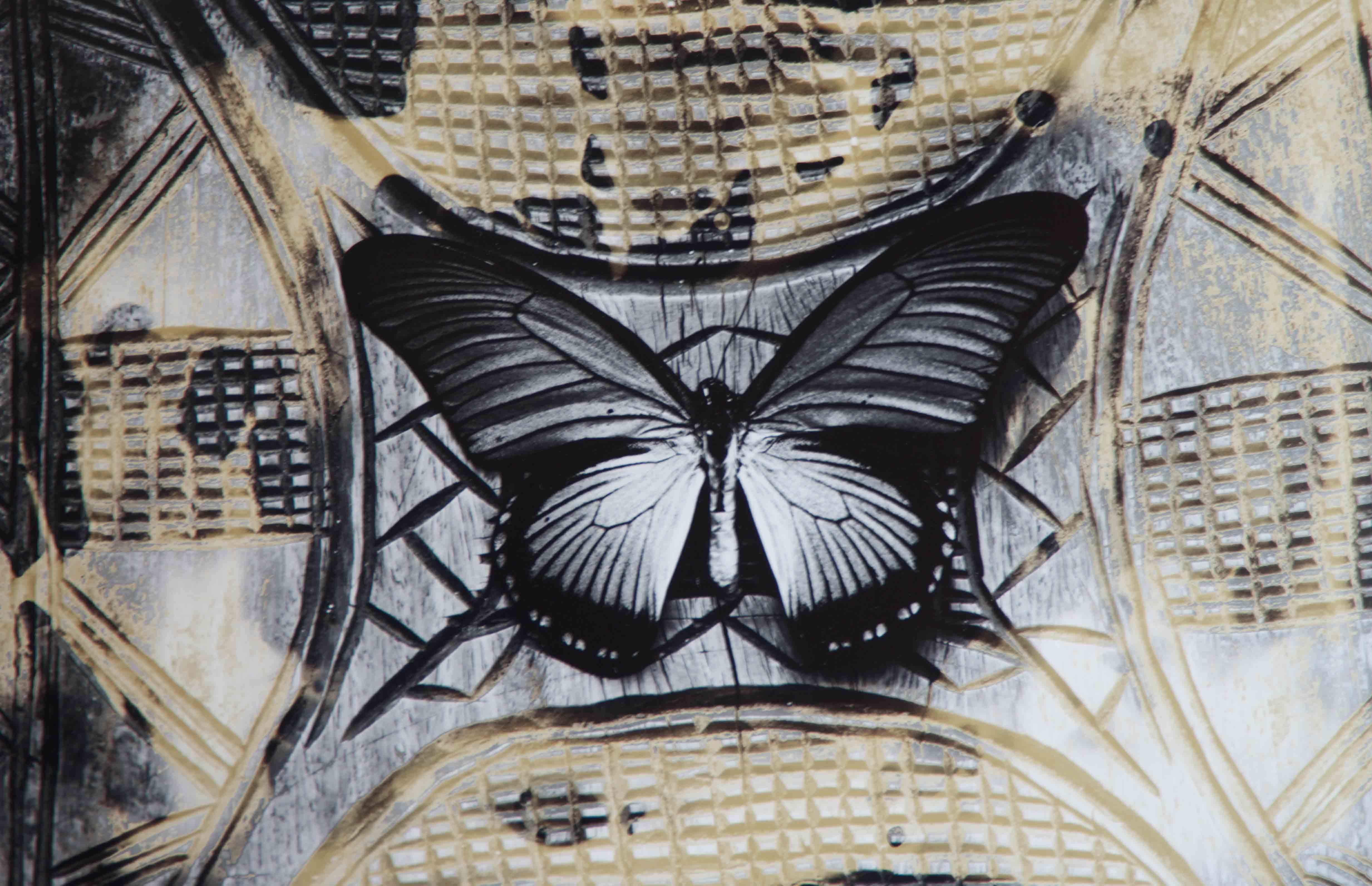 Papillon, 2003<br/>Impresión de tintas de pigmentos / Inkjet
