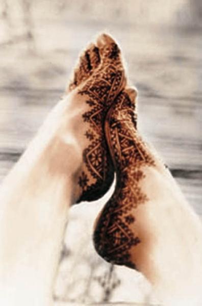 Pieds Au Henne. Maroc,1987<br/>Impresión de tintas de pigmentos / Inkjet