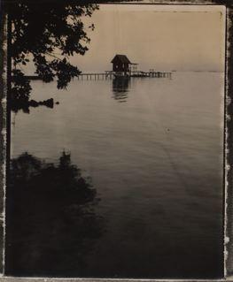 Polynésie, Tahaa, Ferme Perliére, 2003<br/>Impresión de tintas de pigmentos / Inkjet