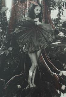 Polynesie, Chavli dans le jardin de Gauguin 2002<br/>Impresión de tintas de pigmentos / Inkjet