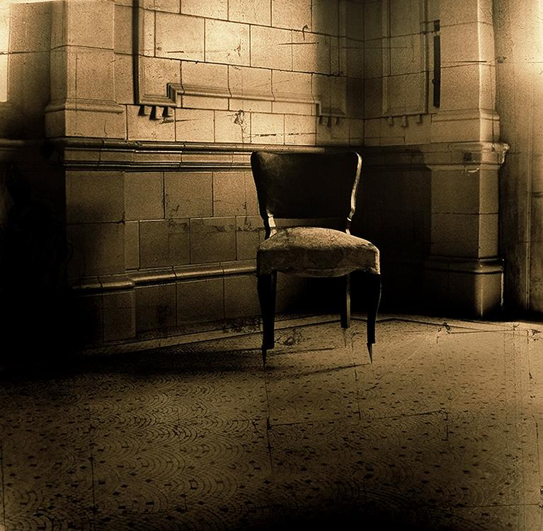 Que ocurriera en la oscuridad (El encuentro), 2004<br/>Película ortocromática / Orthocromatic Print