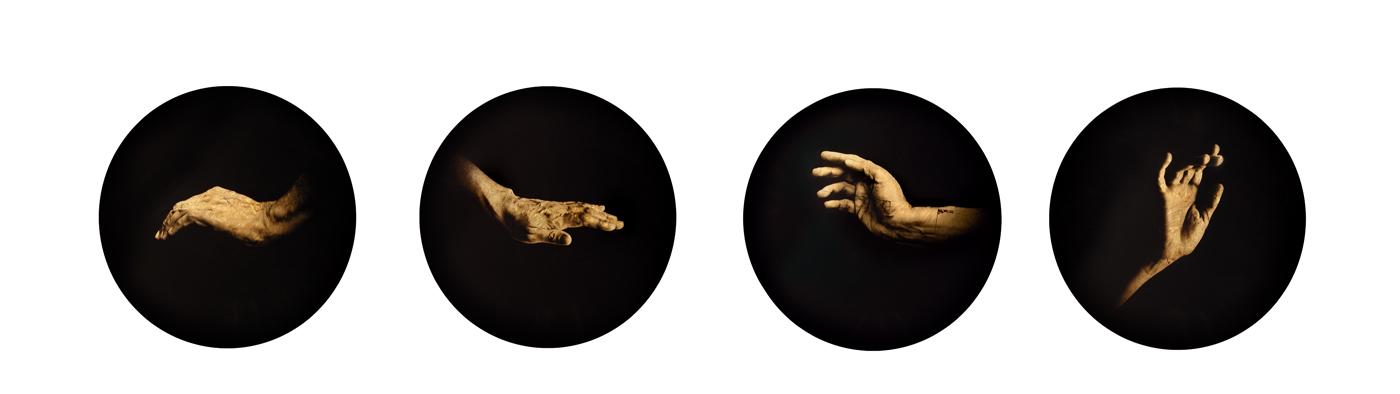 Estudio de la Anunciación de Rubens, 2007<br/>Película orthocromática / Orthocromatic Print