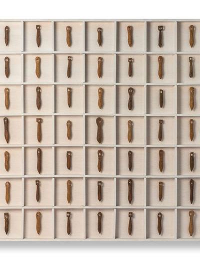 Repetición, 2013<br/>Instalación en madera / Wood installation