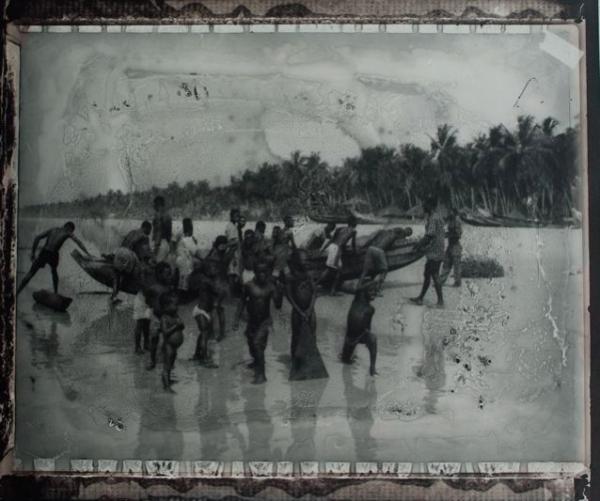 Retour de Pêche Assinie, Costa De Marfil, 1999<br/>Impresión de tintas de pigmentos / Inkjet