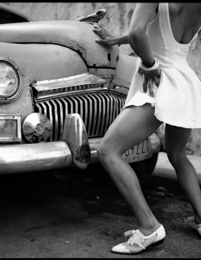 Serie Danza Cubana. La Habana Vieja,. Cuba, 1995<br/>Platinotipia / Platinum