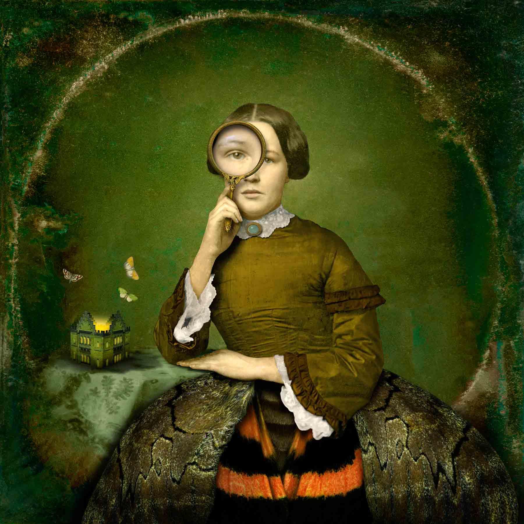 The moth house, 2012<br/>Impresión de tintas de pigmentos / Inkjet print