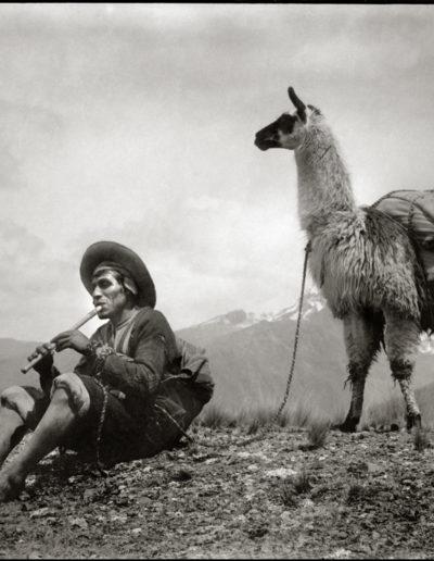 Tristeza andina, 1933<br/>Gelatina de plata / Silver gelatin print