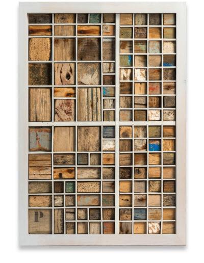 Archivo 2, 2013<br/>Instalación en madera / Wood installation