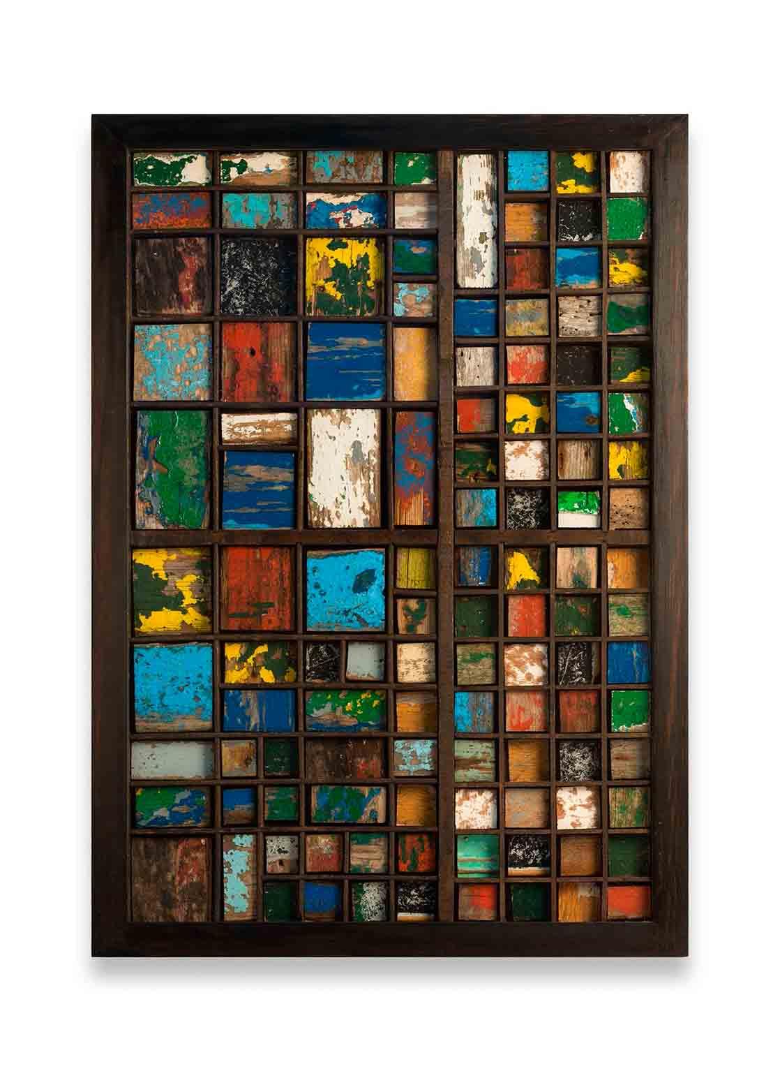 Archivo 3, 2013<br/>Instalación en madera / Wood installation