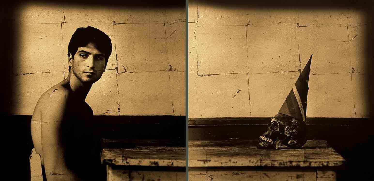 Las sombras de su niñez, 2004<br/>Película ortocromática / Orthocromatic Print