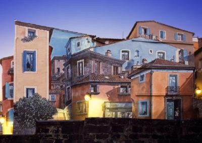 Overlapped houses, 2010<br/>Impresión cromogénica / Chromogenic print.