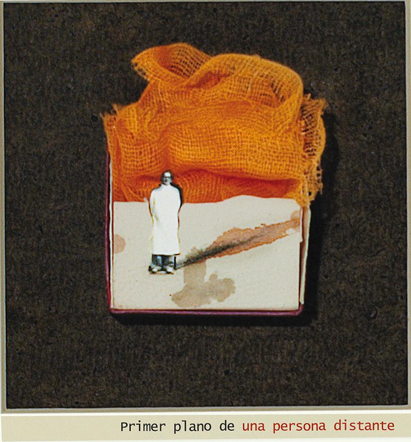 Persona distante, 2009<br/>Fotografía de collage / Collage photography.