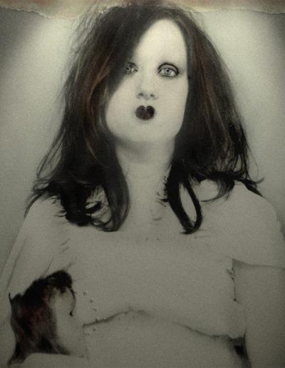 Veru Iché. Santa de la criatura, 2008<br/>Tintas de pigmento sobre Epson / Traditional Paper