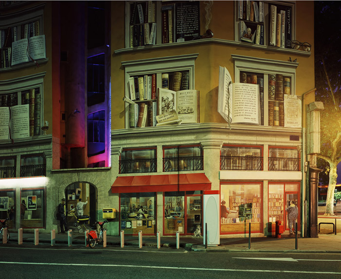 The hugh lamplight, 2006<br/>Impresión cromogénica / Chromogenic print.