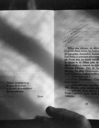 En los libros III, 2007<br/>Gelatina de plata sobre papel baritado / Silver gelatin on baryta paper