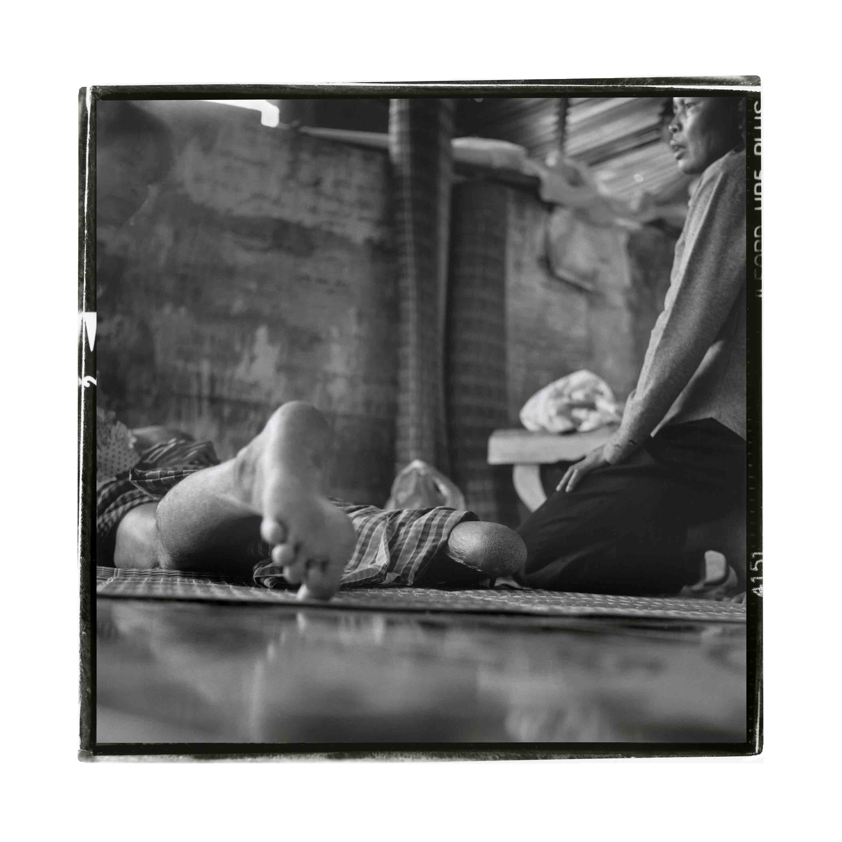 Jeremes 12, 2013<br/>Gelatinoclorobromuro de plata / Silver gelatin print