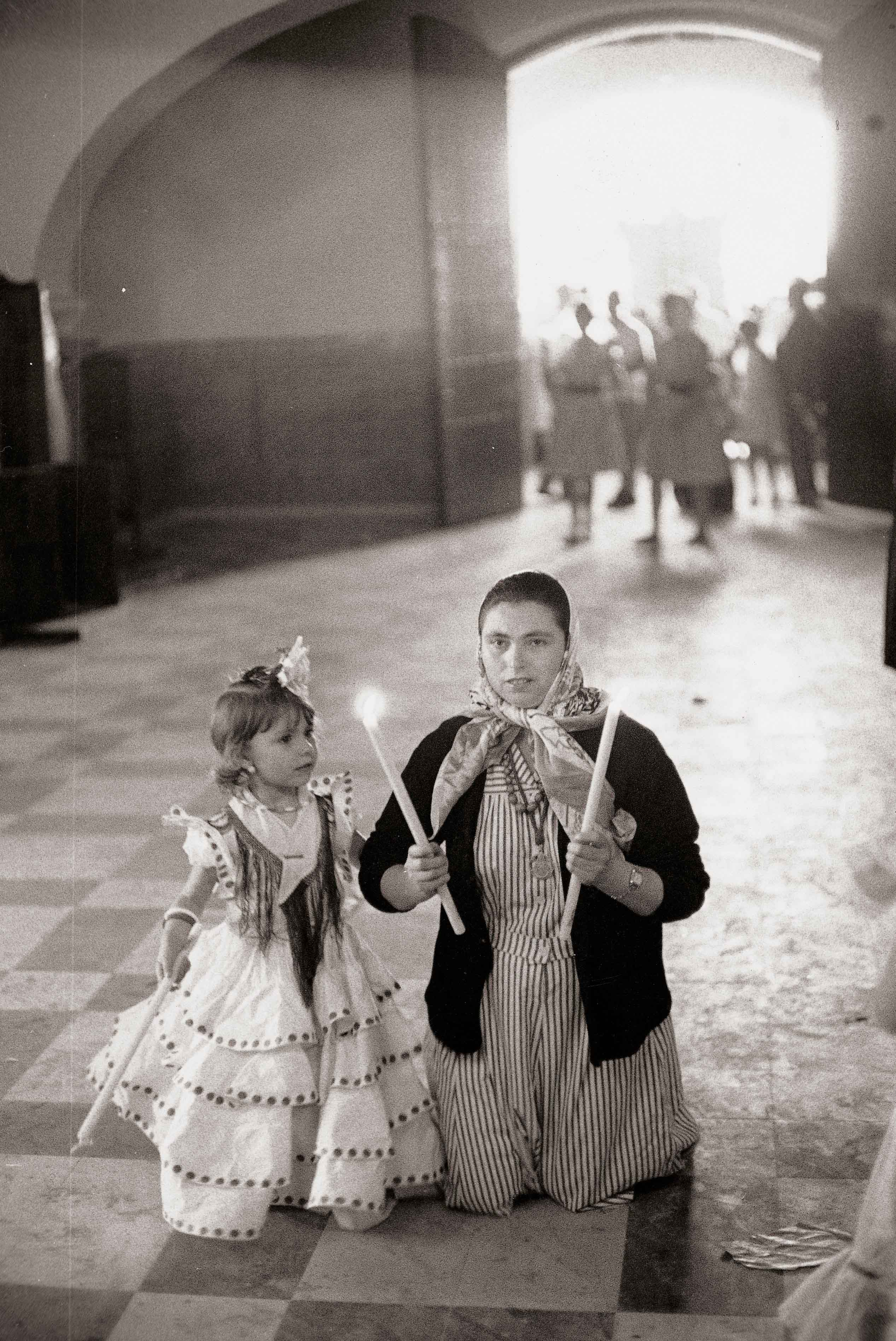 El Rocío. Almonte, 1962<br/>Gelatina de plata / Silver gelatin
