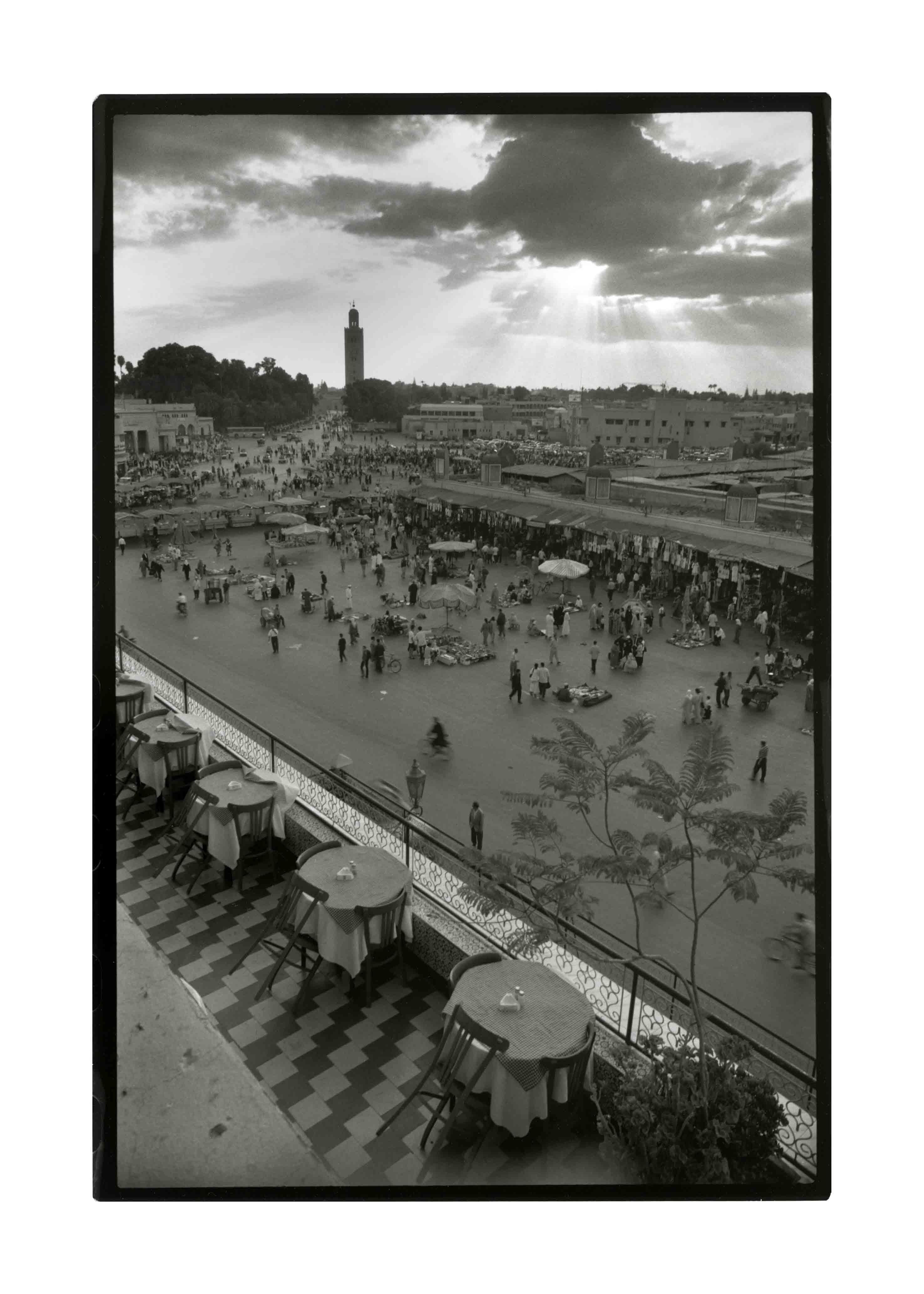 Marrakech, 2000<br/>Gelatinoclorobromuro de plata / Silver gelatin print