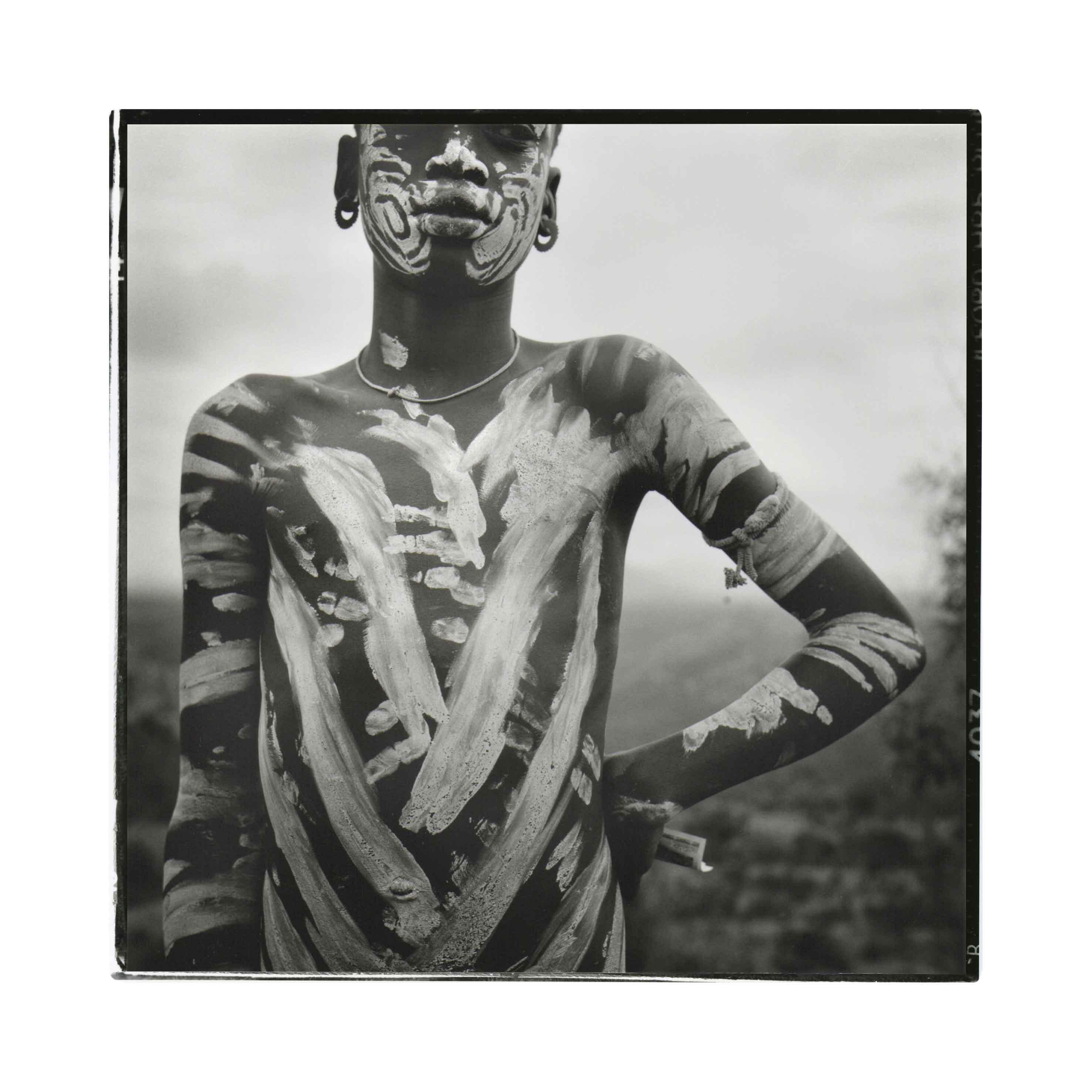 Etíope 3, 2012<br/>Gelatinoclorobromuro de plata / Silver gelatin print