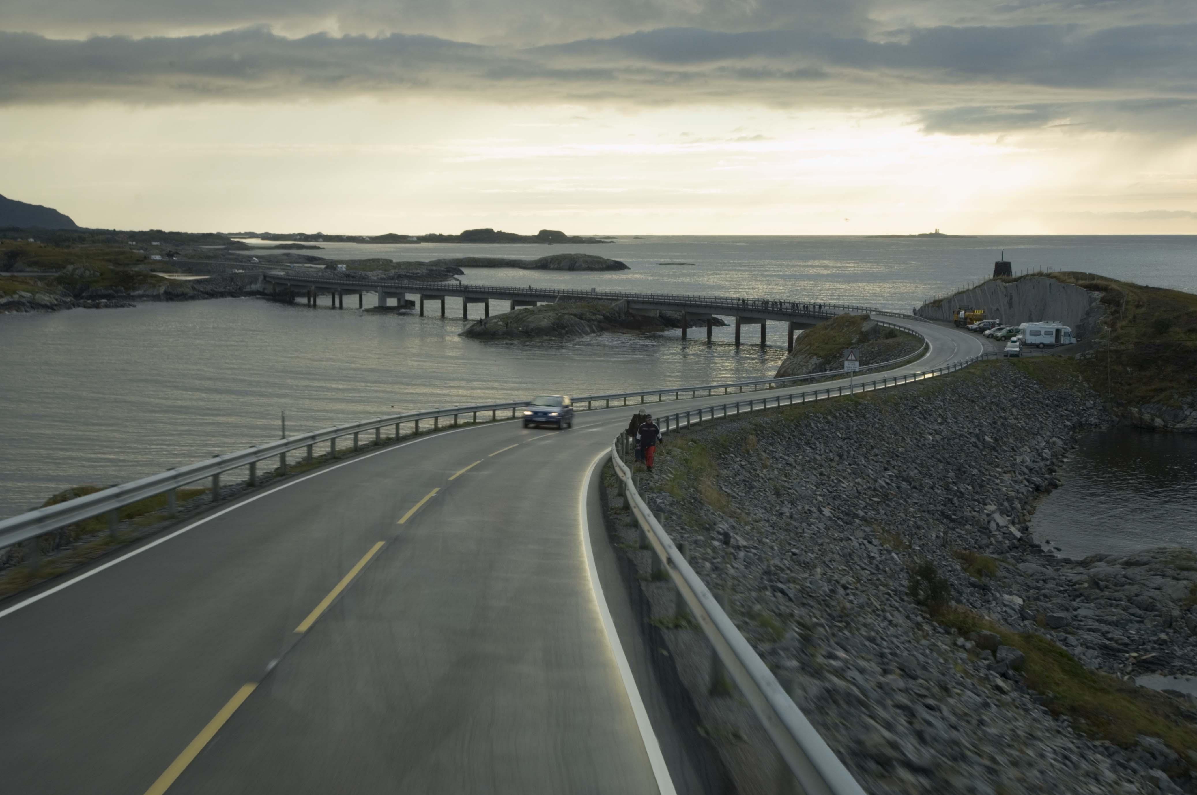 Carretera del Atlántico. Isla Averoy<br/>Impresión de tinta / Inkjet