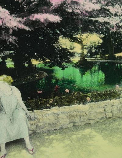 Chicas en el parque, 1978<br/>Gelatina de plata coloreada / Silver gelatin hand coloured