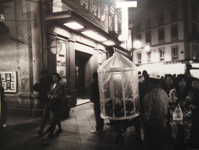 S/T, Serie Coruña by night, 1986<br/>Gelatina de plata / Silver gelatin