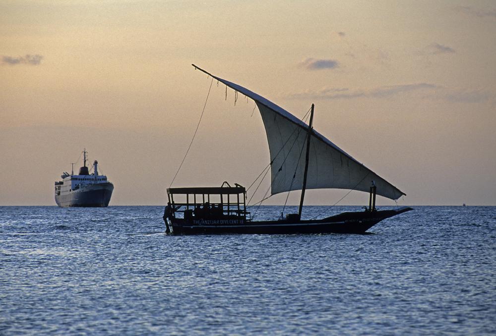 Dhow. Zanzíbar, Tanzania, 2003<br/>Giclée