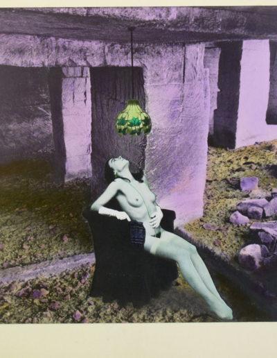 En la gruta, 1979<br/>Gelatina de plata coloreada / Silver gelatin hand coloured