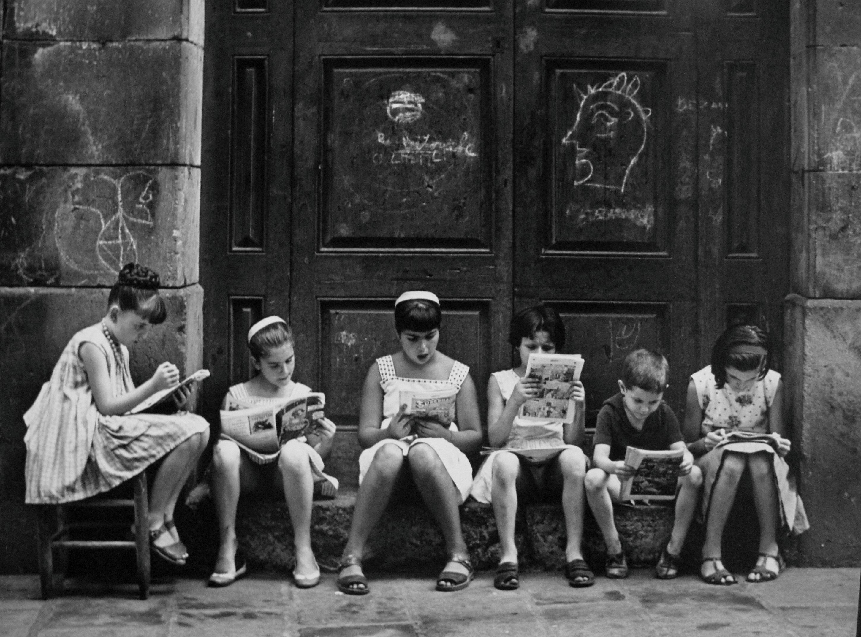 Pasión por la lectura, 1962<br/>Gelatina de plata / Silver Gelatin