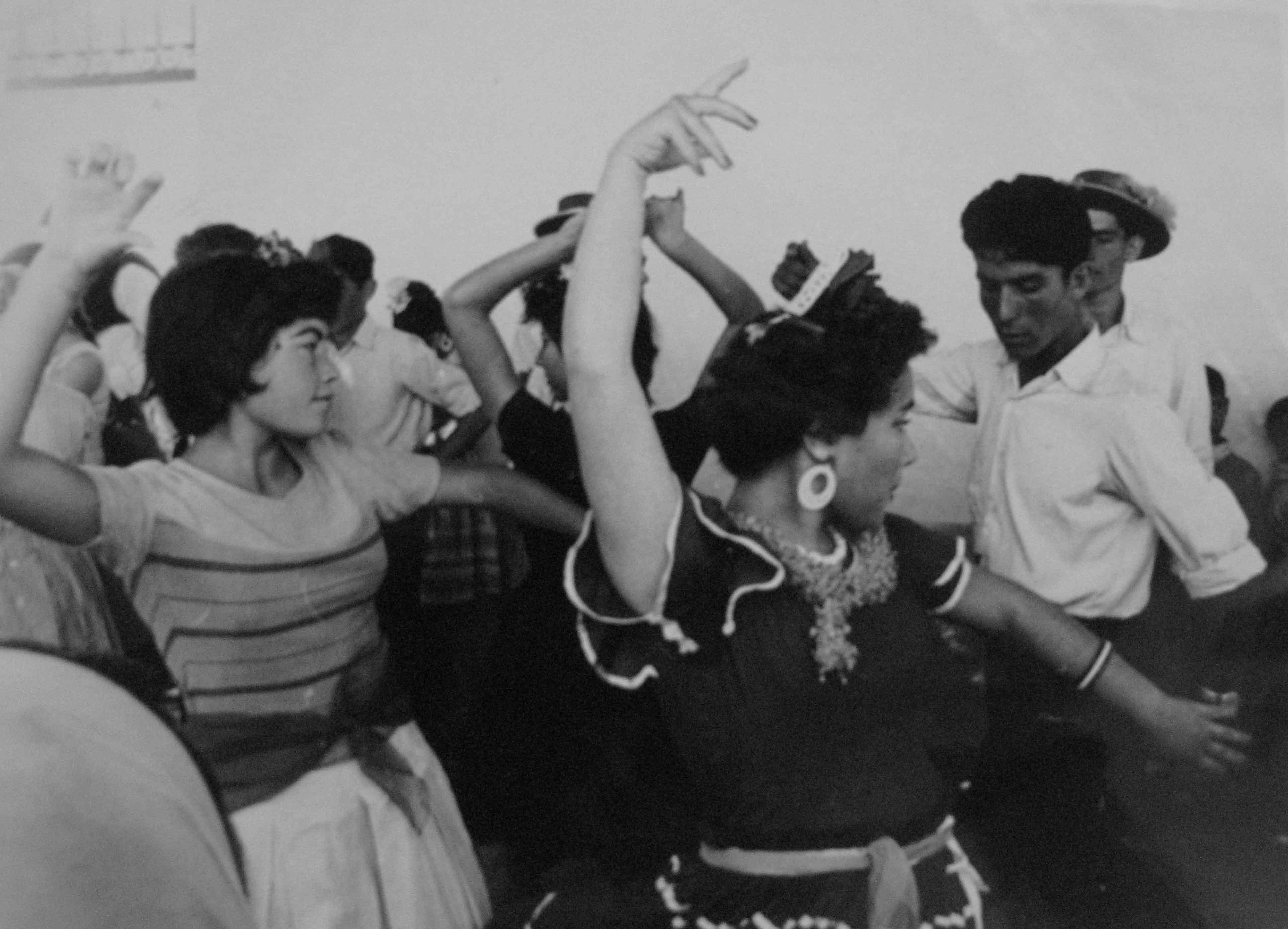 El Rocío. Almonte, 1959<br/>Gelatina de plata / Silver gelatin