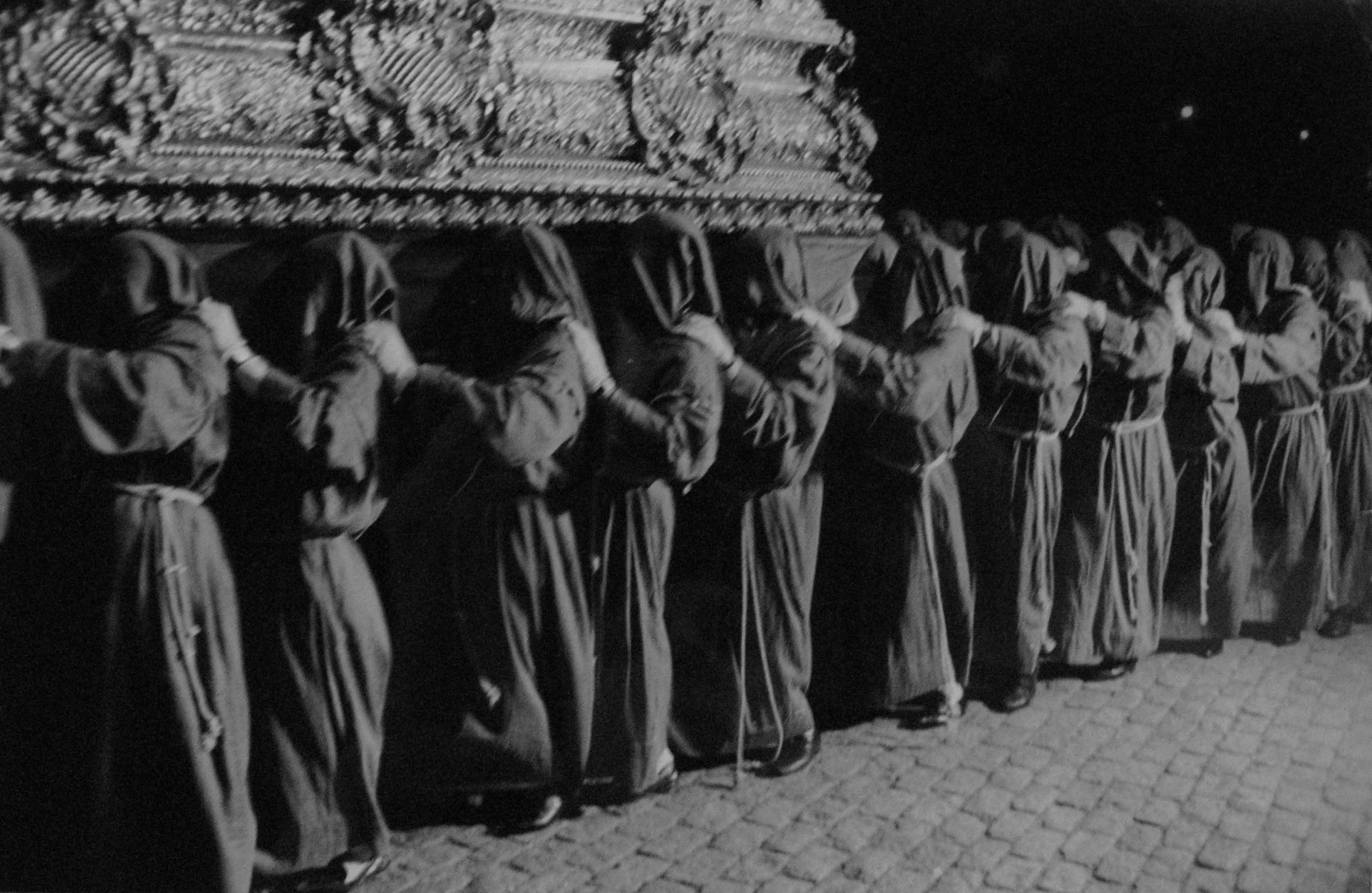 Semana Santa. Málaga, 1960<br/>Gelatina de plata / Silver gelatin
