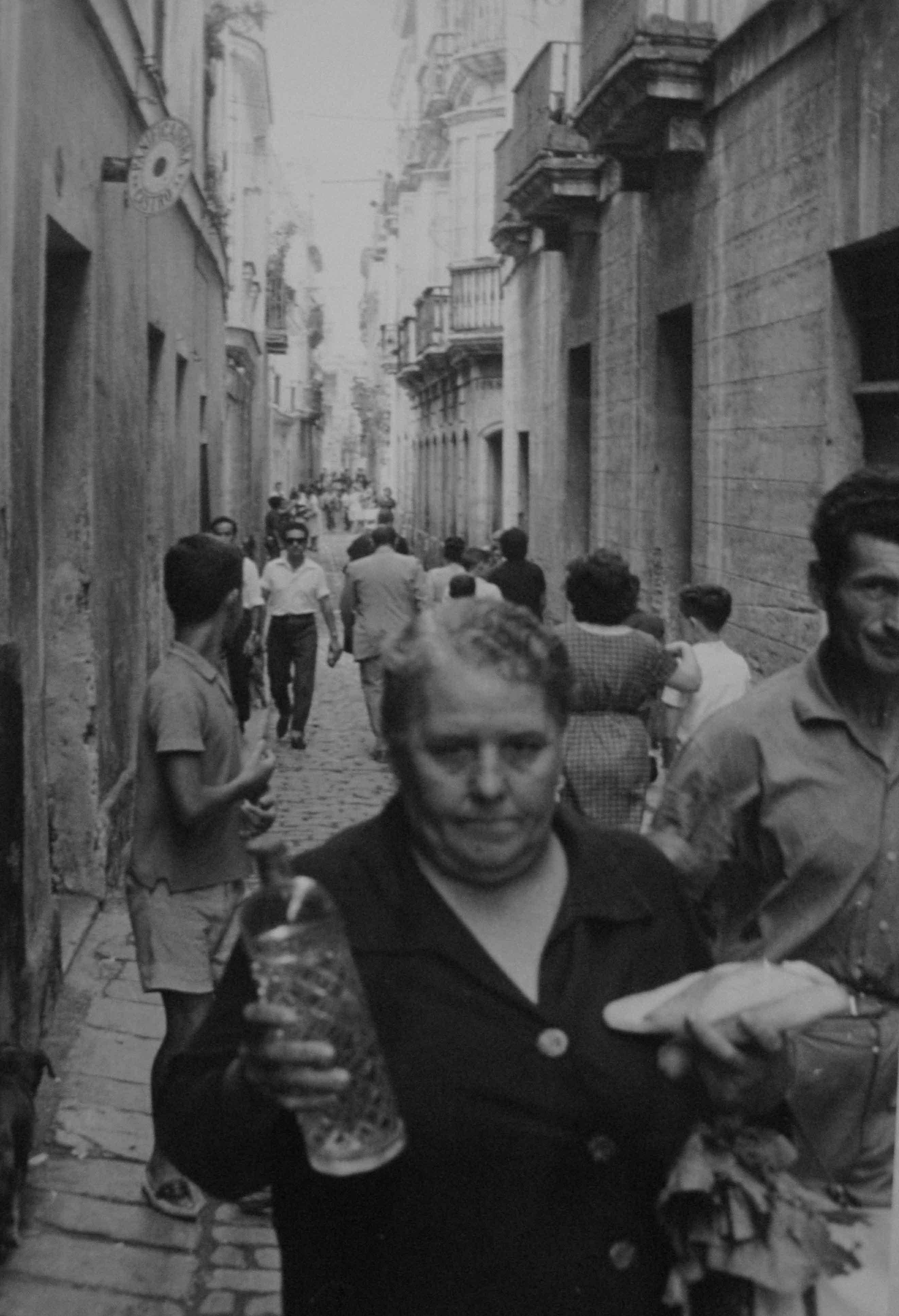Barrio de Santa María. Cádiz<br/>Gelatina de plata / Silver gelatin