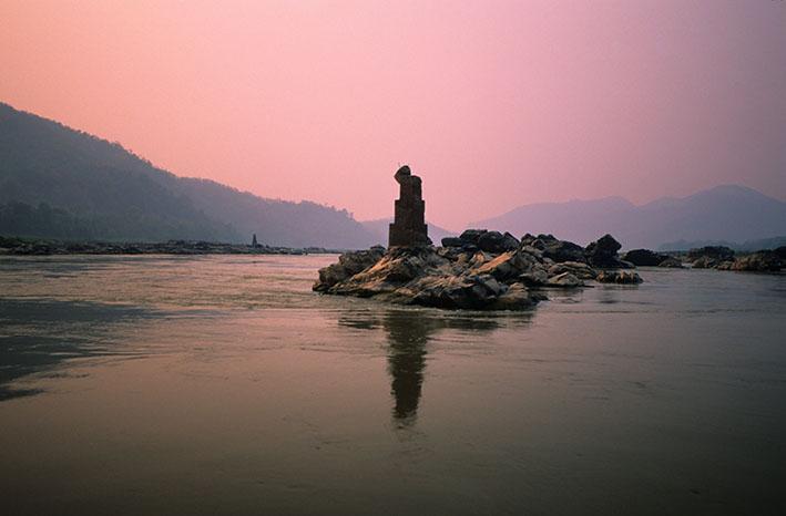 Isla Mekong. Laos, 2006<br/>mpresión de tinta / Inkjet print