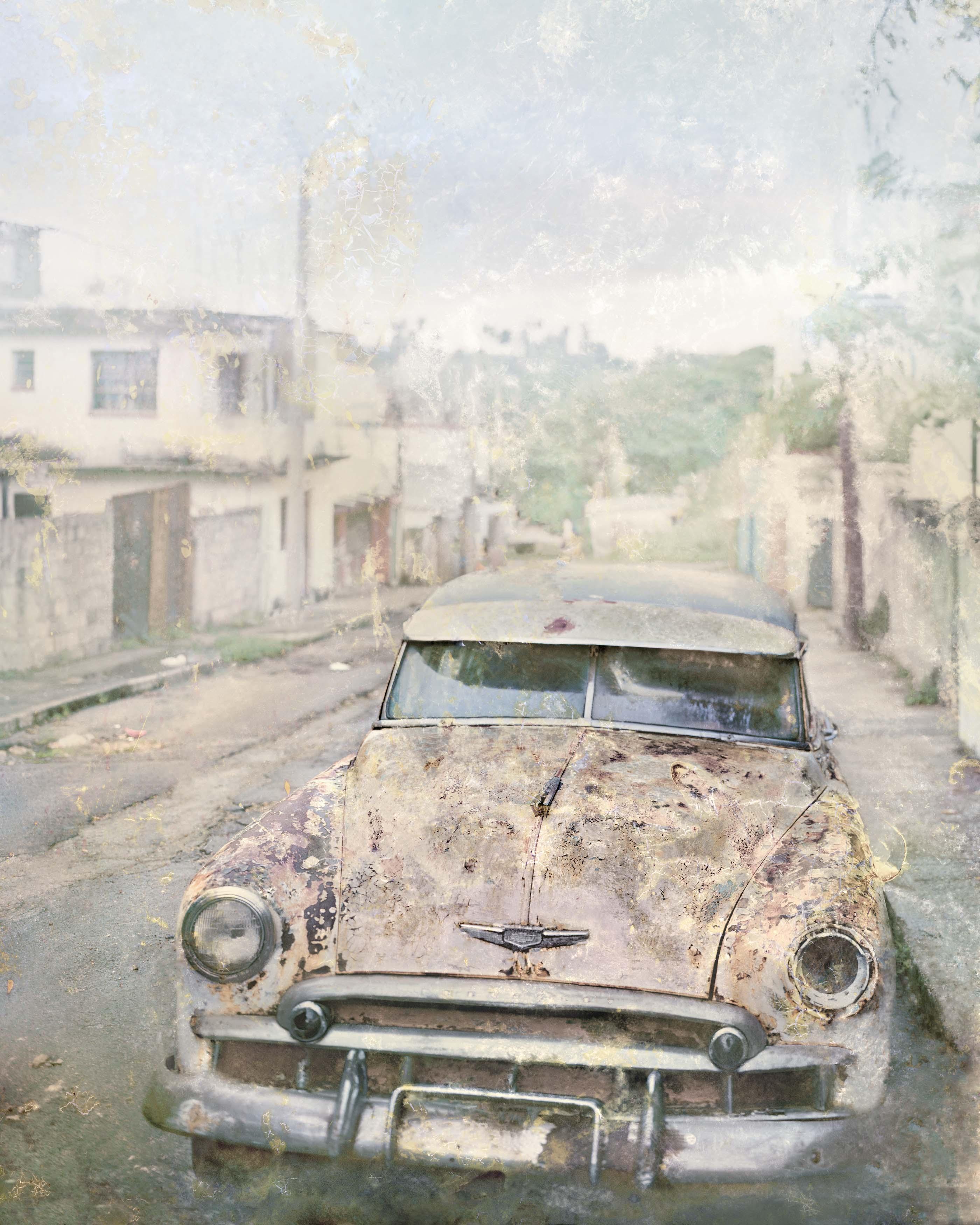 La Habana Centro, 2016<br/>Impresión de tintas de pigmentos sobre papel  hahnemühle, montada sobre dibond de aluminio / Inkjet print on hannemühle paper mounted on aluminum dibond