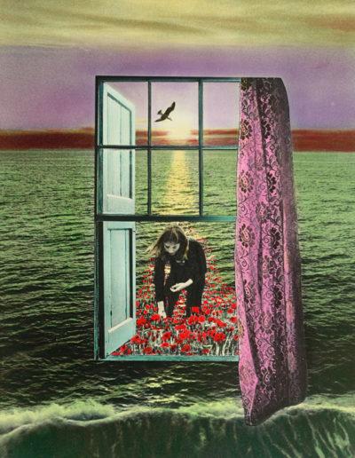 La ventana, 1977<br/>Gelatina de plata coloreada / Silver gelatin hand coloured