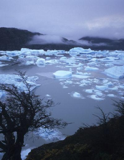 Lago Grey. Patagonia, Chile, 2002<br/>Giclée