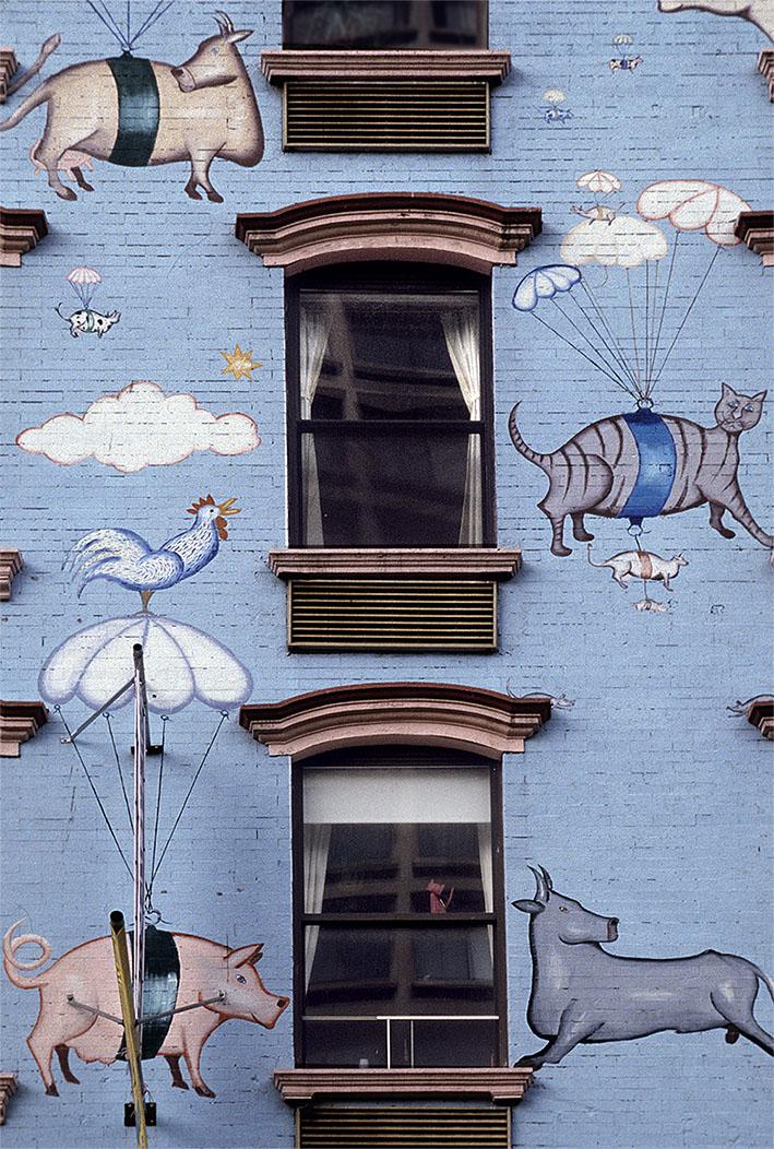 Ventanas de Nueva York, 2004<br/>Impresión de tinta / Inkjet