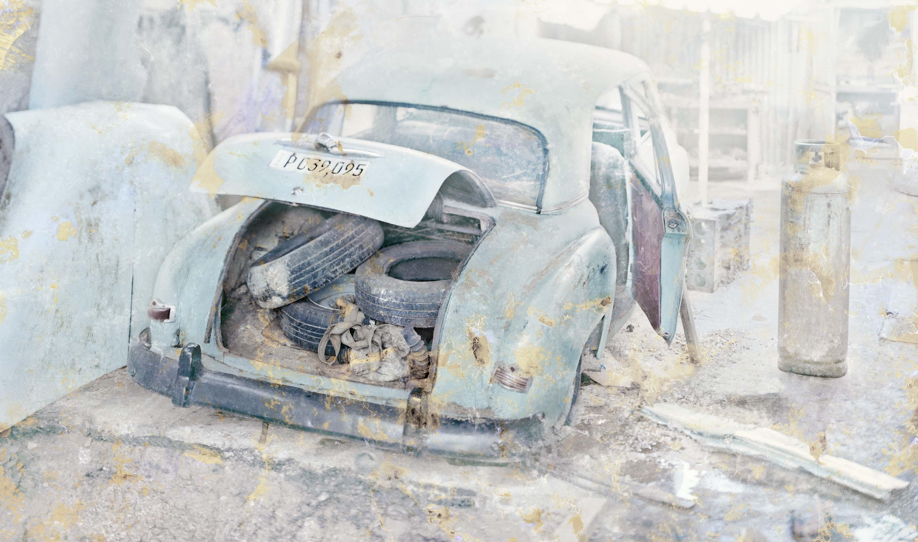 Taller de La Habana, 2016<br/>Impresión de tintas de pigmentos sobre papel  hahnemühle, montada sobre dibond de aluminio / Inkjet print on hannemühle paper mounted on aluminum dibond