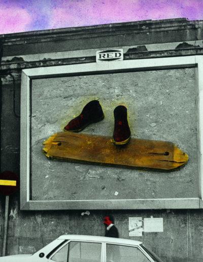 These boots are made for walking, 1976<br/>Gelatina de plata coloreada / Silver gelatin hand coloured